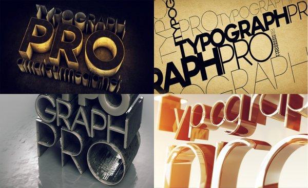دانلود فونت انگلیسی typography pro