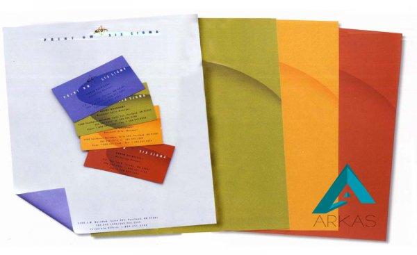 مجموعه تصاویر پاکت ، کارت ویزیت و سربرگ برای ایده گرفتن